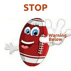 Stop Warning Below