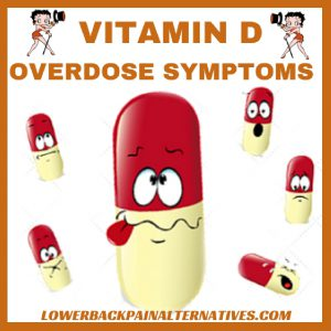 Symptoms Of Too Much Vitamin D