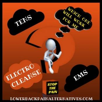 TRNS vs EMS vs ElectroCleanse