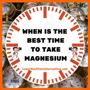 When Is The Best Time To Take Magnesium