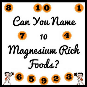 Top Ten Magnesium Mich Foods