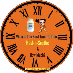 Best Time To Take Heal n Soothe Supplement
