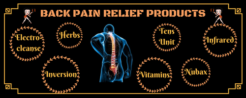 Lower Back Pain Relief Products