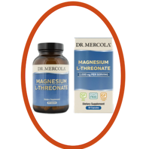 Dr Mercola magnesum bottle