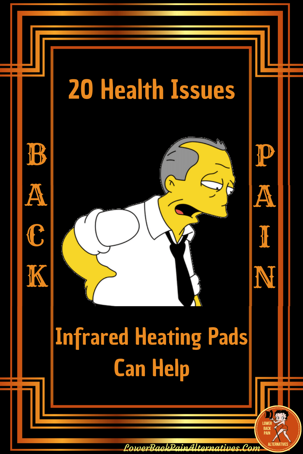 Homer With Back Pain