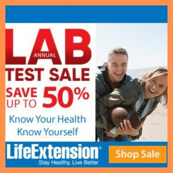 Life Extensiuon Lab Test