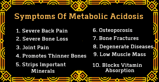 10 Symptoms Of Metabolic Acidosis