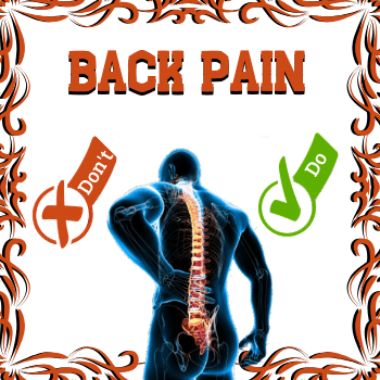 Man with red spine