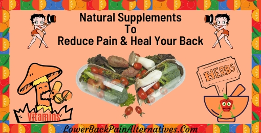 Natural Supplements For Pain Relief